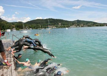 Start frei zum Wörthersee Triathlon