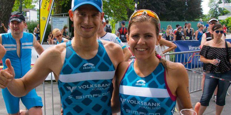 Bianca Steurer und Paul Reitmayr küren sich zu den Vorarlberger Landesmeister im Sprint-Triathlon 2018
