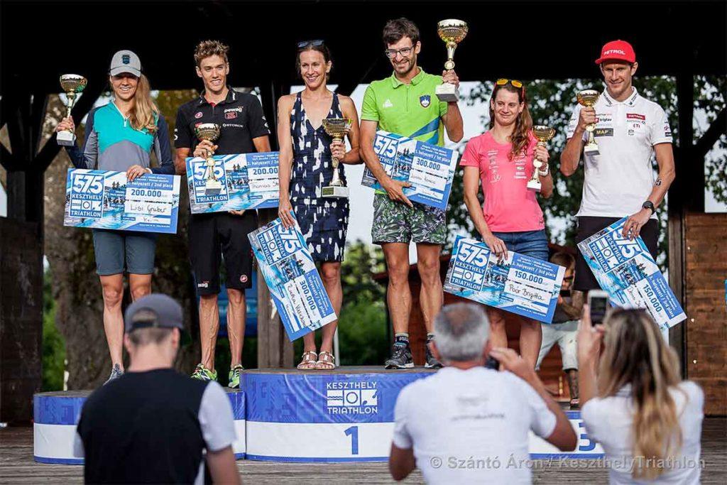 Gruber und Steger bei 575 Keszthely Triathlon auf Rang zwei 1