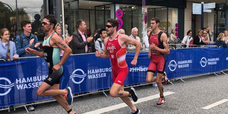 Luis Knabl am Weg zu Rang 24 beim WTS Hamburg