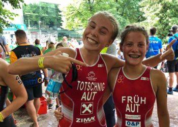 Magdalena Früh kürt sich zur Vize-Europameisterin 2018 in Tartu | Foto: ÖTRV