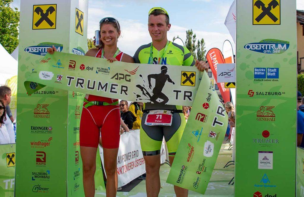 Lemuela Wutz und Peter Huber gewinnen Sprintdistanz in Trum 1
