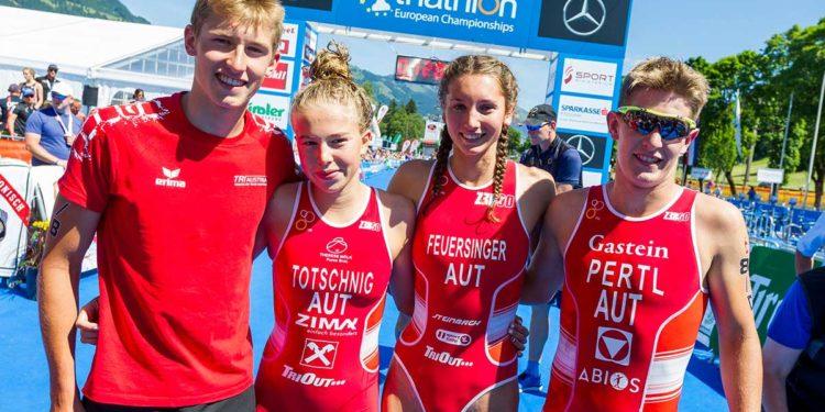 Österreichs Junioren freuen sich auf eine Heim-Europameisteschaft 2019   Foto: Steiger