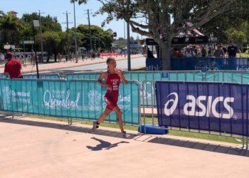 Magdalena Früh beim ITU Junioren WM Bewerb 2018