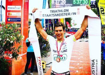 Triathlon Langdistanz Staatsmeister 2018 - Paul Ruttmann
