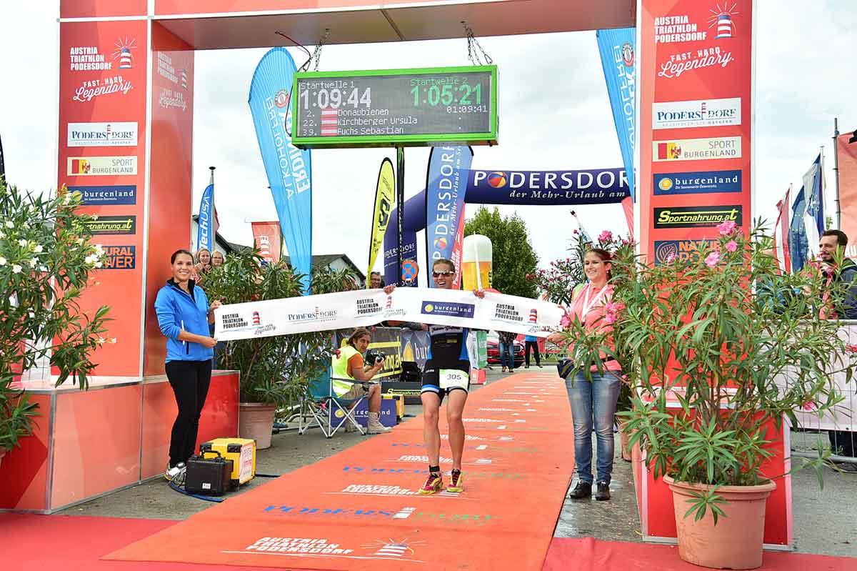 Sprint- und Olympische Distanz runden Podersdorf Wochenende ab 2