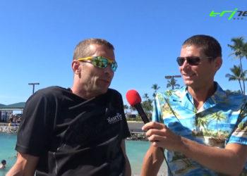 Andreas Fuchs am Pier von Kailua Kona, Hawaii 2018
