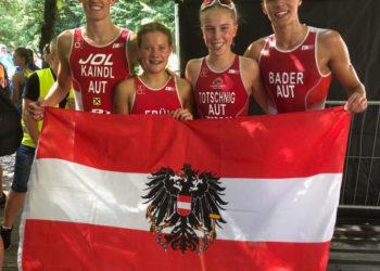 Team Austria bei der Junioren-EM in Tartu (EST) | Photo: ÖTRV