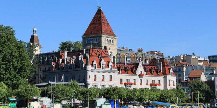 Lausanne - Austragungsort des ITU Grand Final 2019