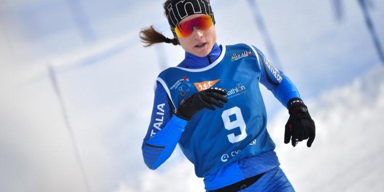 Race Action: Winter-Triathlon Weltcup in Asiago 1