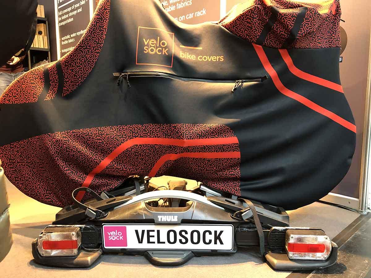 Das Velosocks High End Produkt für den trockenen Radtransport