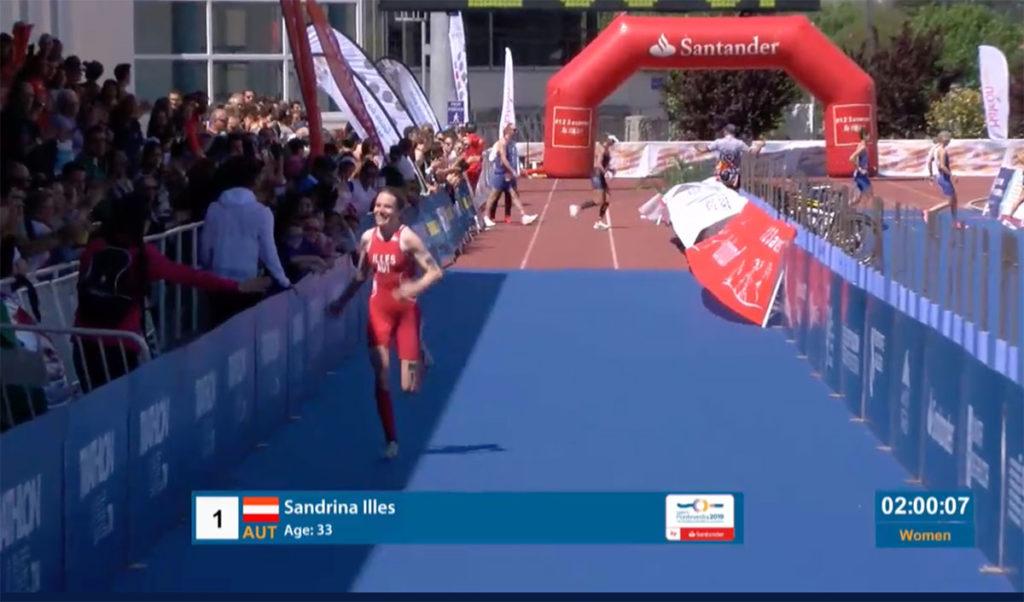 Illes holt Duathlon Vize-Weltmeistertitel 1