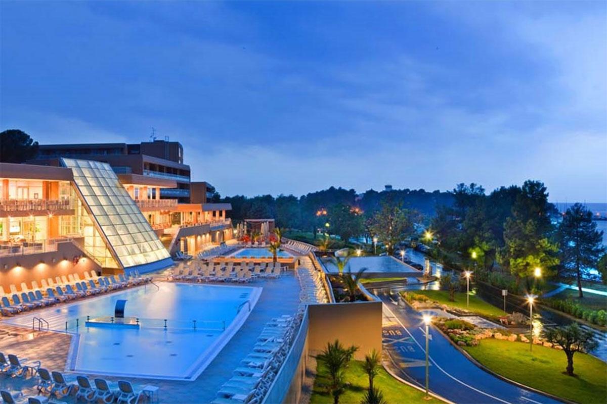 Das Hotel Molindrio Plava Laguna