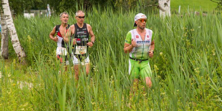 Die Laufstrecke des Putterersee Triathlons durch die wunderschöne Landschaft
