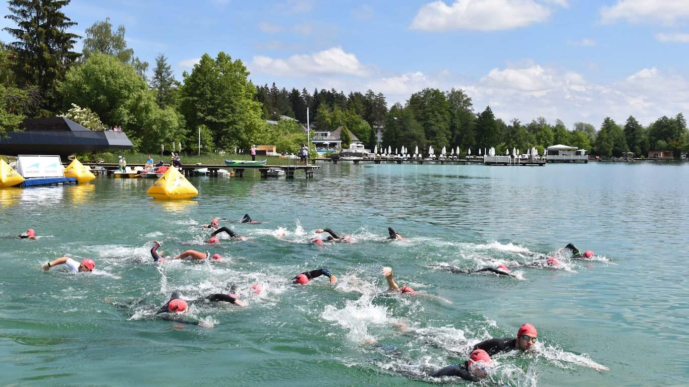 Der Klopeinersee wird zur Schwimmarena 2
