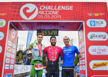 Thomas Steger belegt Rang 2 bei der Challenge Riccione 2019
