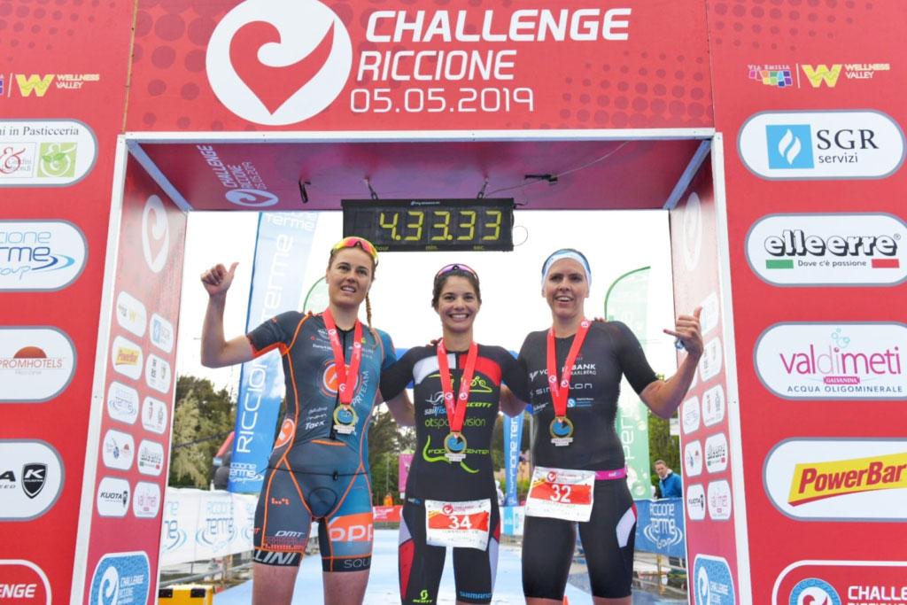 Steurer und Steger bei Challenge Riccione auf Podest 2