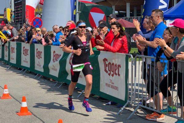 Bianca Steurer beim IRONMAN 70.3 St. Pölten 2019