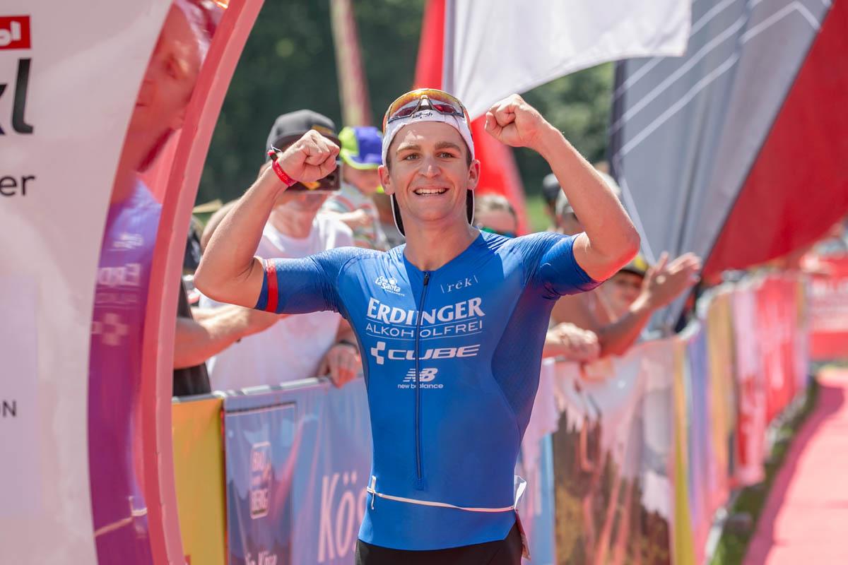 Triathlon Europameisterschaft 2021 im Rahmen der Challenge Walchsee 1