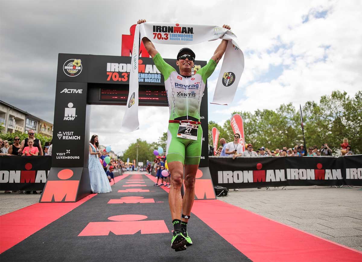 Lukasz Wojt gewinnt den IRONMAN 70.3 Luxemburg 2019