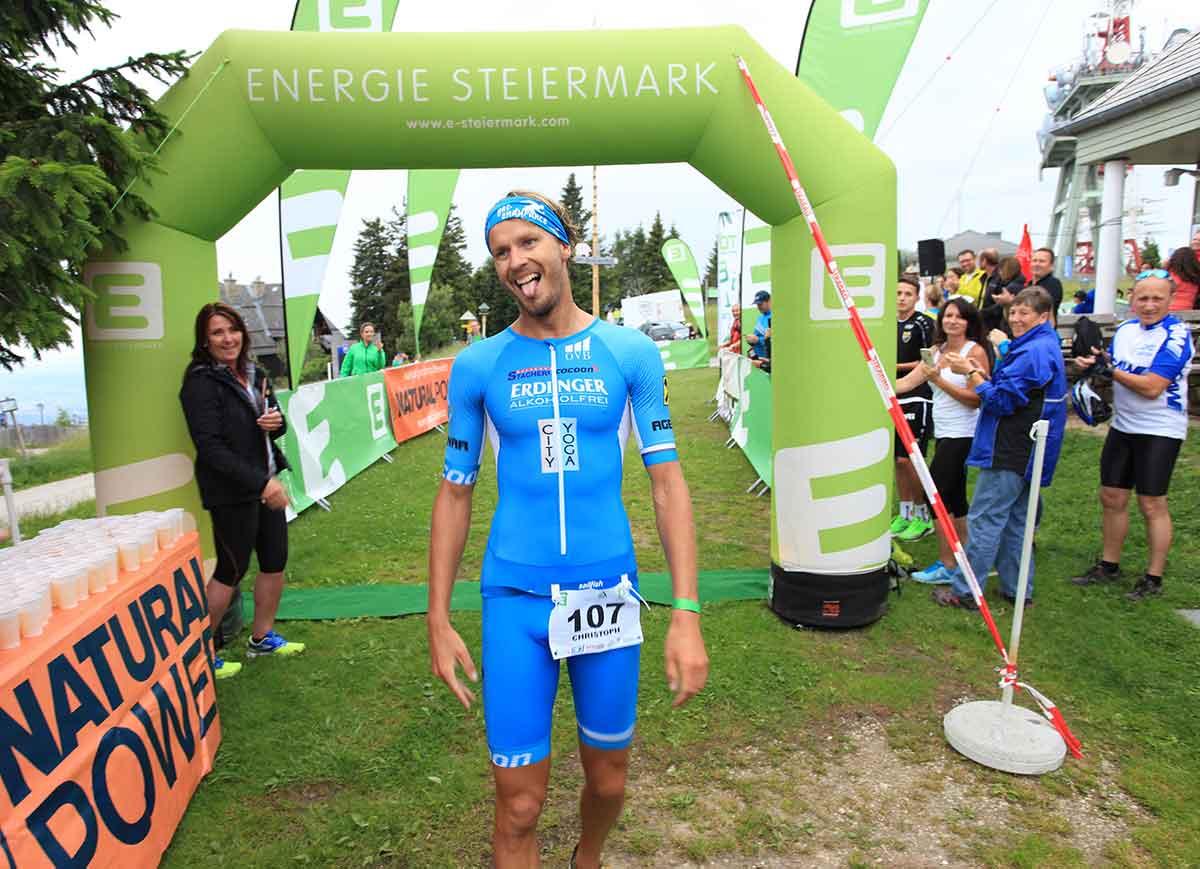 Christoph Schlagbauer gewinnt den schöcklHERO 2018