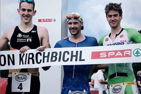 Thomas Steger beim Kirchbichl Triathlon
