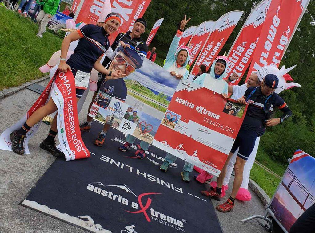 Barbara Tesar gewinnt den Austria eXtreme Triathlon 2019