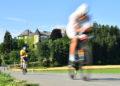 KLAGENFURT, AUSTRIA - JULY 07: Athletes compete in the bike leg during the Ironman Austria on July 07, 2019 in Klagenfurt, Austria. (Photo by Sebastian Widmann/Getty Images for IRONMAN)