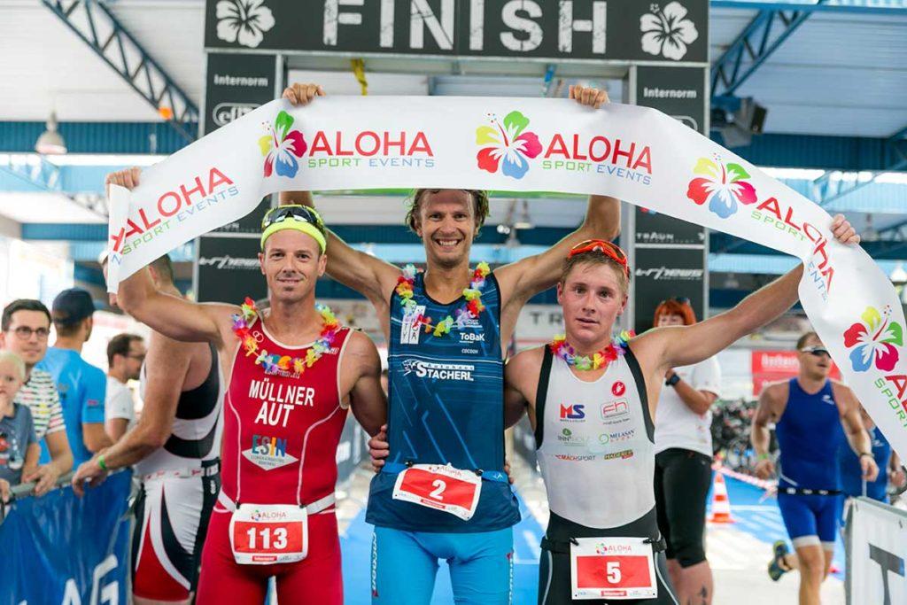 Die Sieger des ALOHA TRI Traun 2019