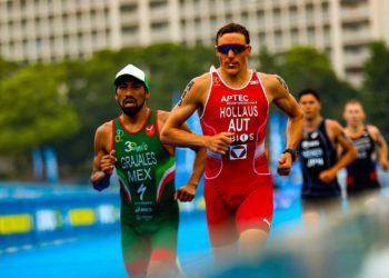 Lukas Hollaus beim Testrennen in Tokyo 2019