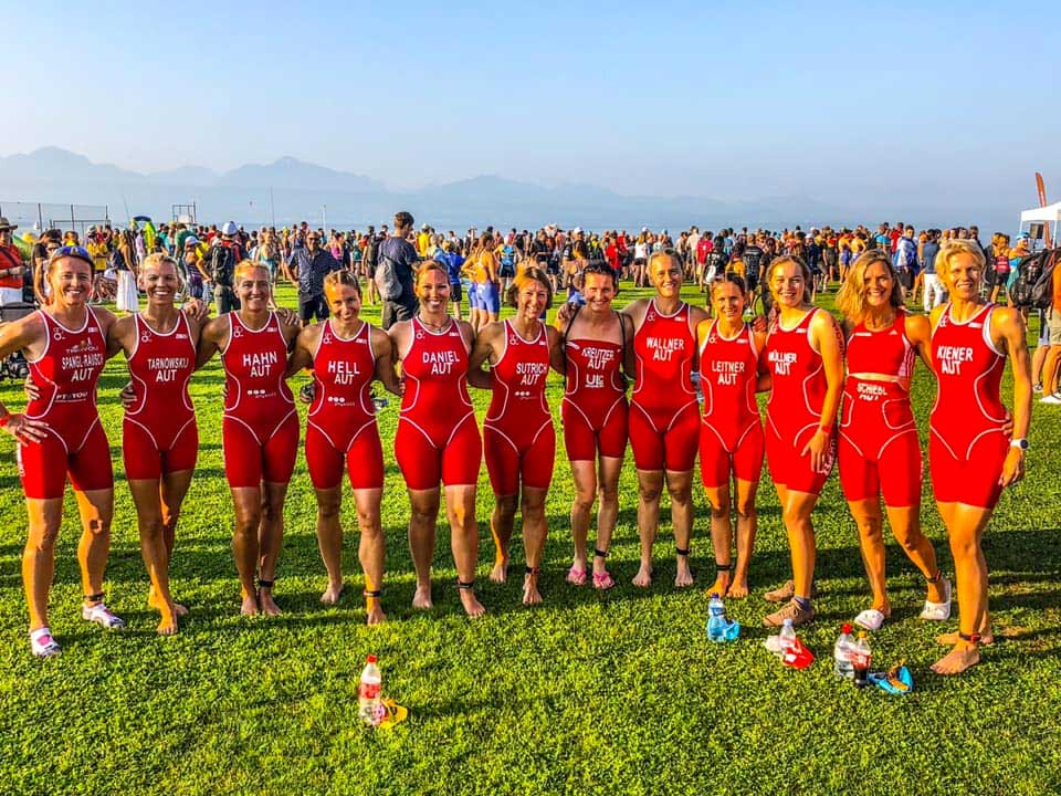 Unsere Ladies beim Grand Final in Lausanne 2019