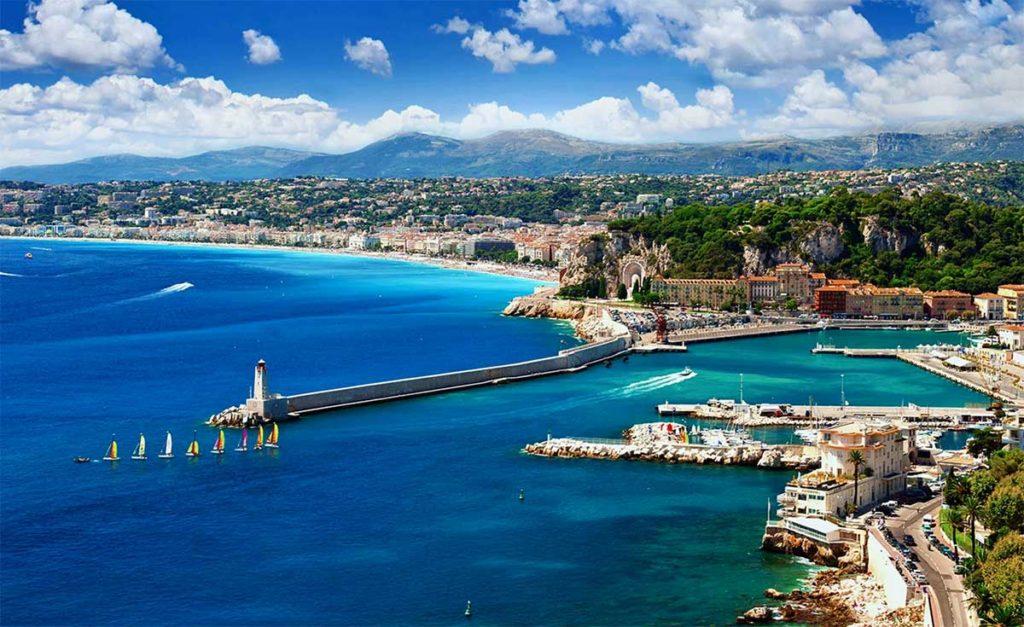 Wunderschöne Landschaft rund um den IRONMAN 70.3 Nizza