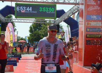 Michael Weiss beim Austria Triathlon Podersdorf