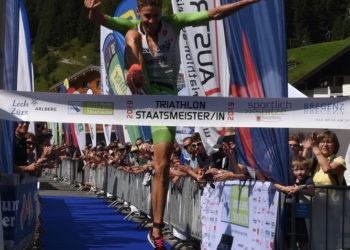 Thomas Steger gewinnt den Trans Vorarlberg Triathlon