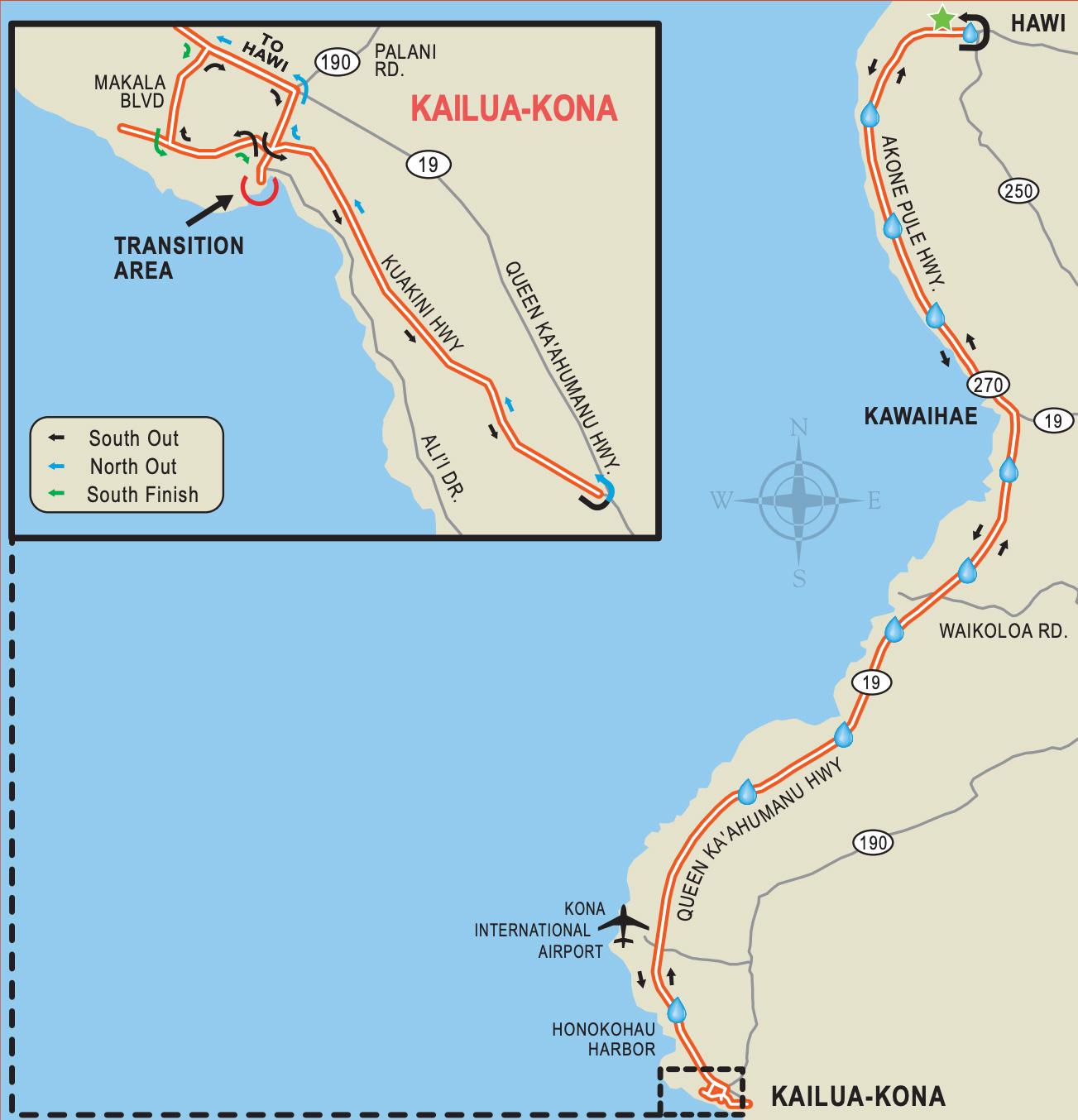 IRONMAN Hawaii – Die Radstrecke