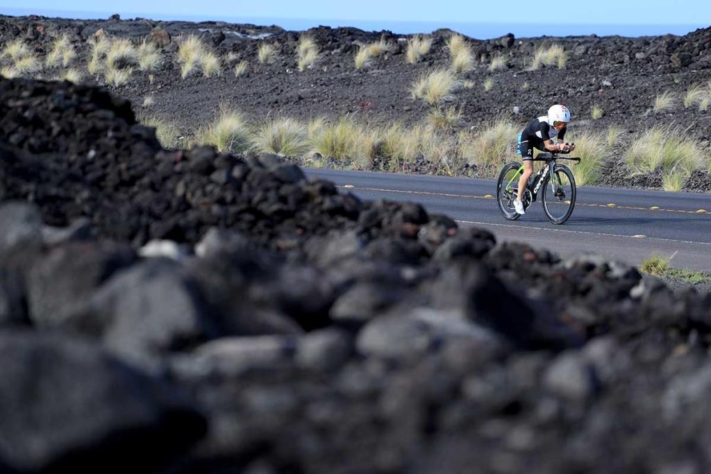 Lavafelder am Queen K Highway beim IRONMAN Hawaii | Foto: Getty Images for IRONMAN