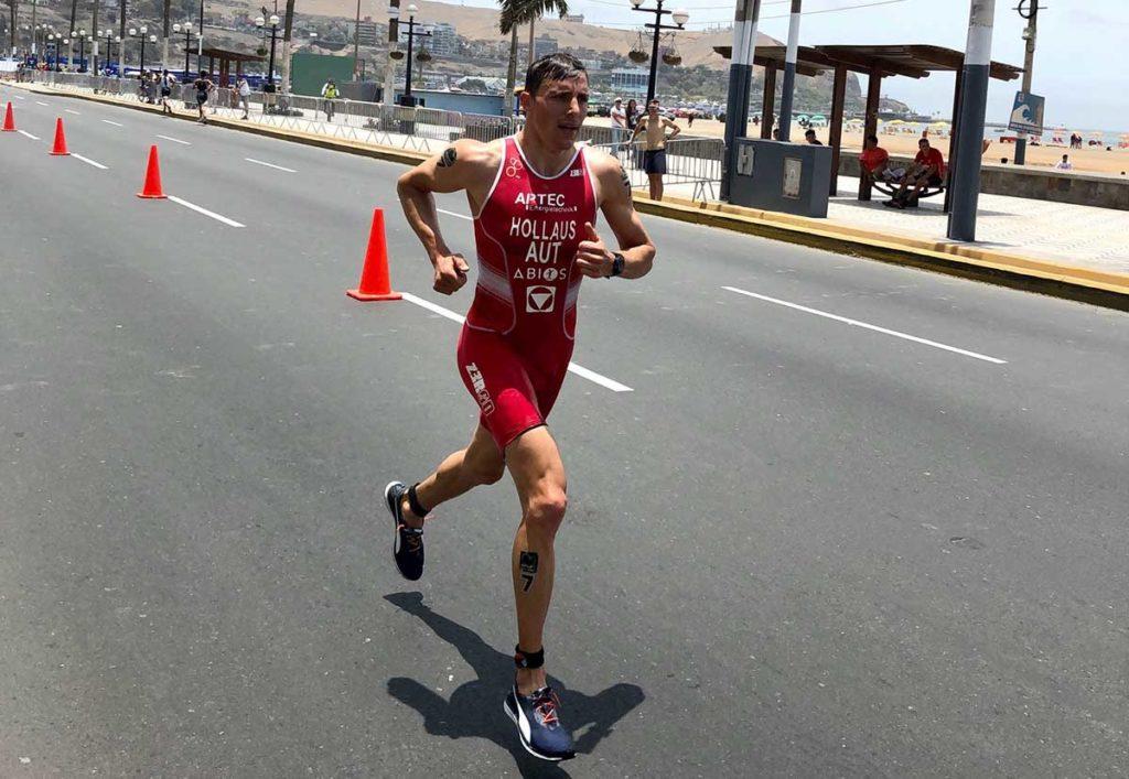 Lukas Hollaus Triathlon World Cup 2019 in Lima