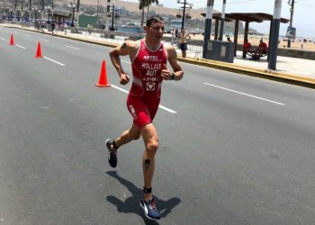 Lukas Hollaus Triathlon World Cup 2019 in Lima