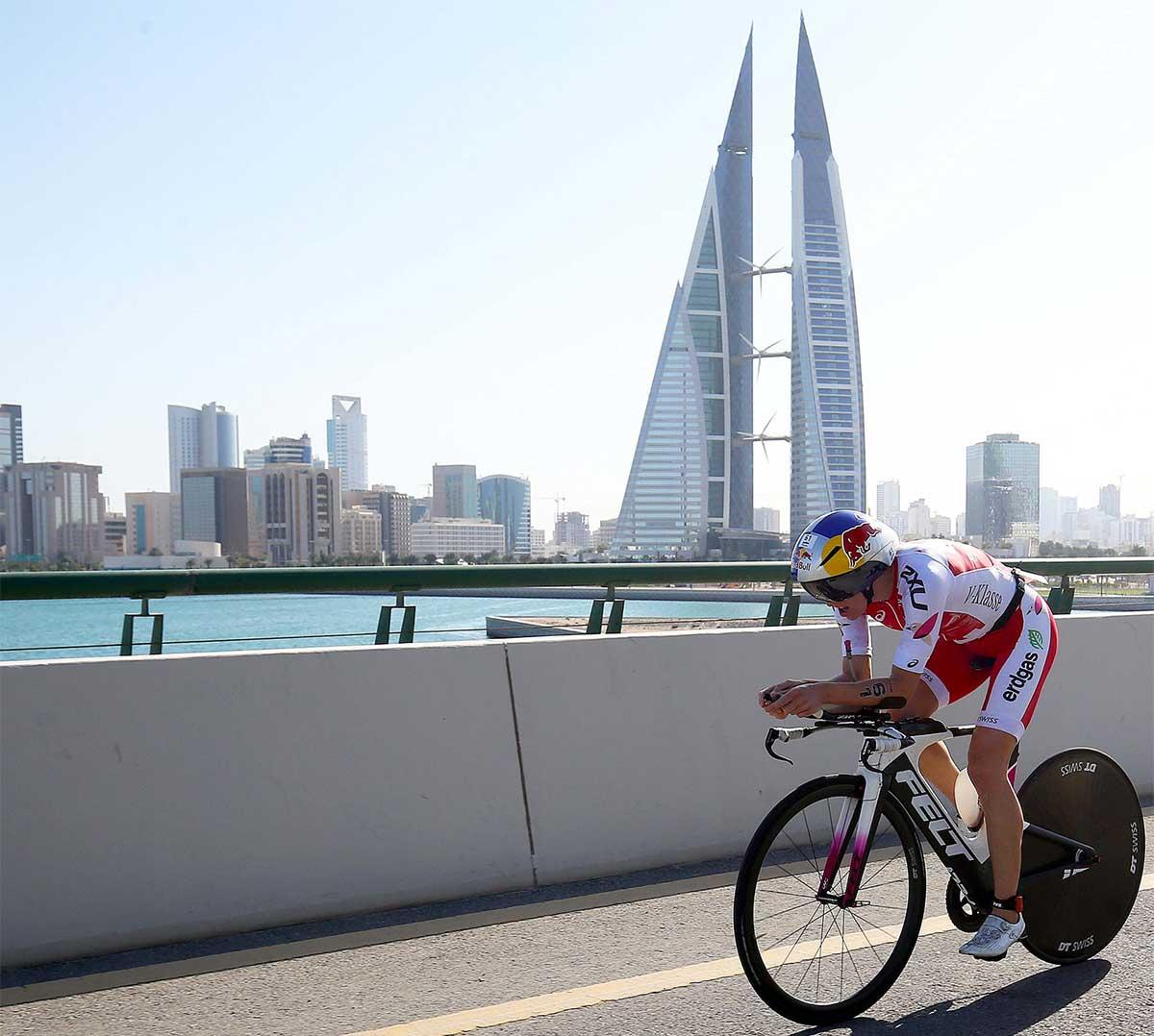 IRONMAN 70.3 Bahrain Radstrecke