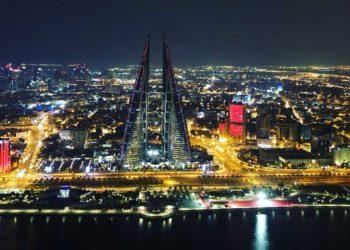 Bahrain bei Nacht