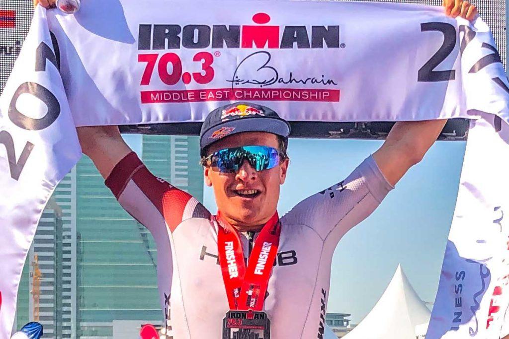 Kristian Blummenfelt gewinnt den IRONMAN 70.3 Bahrain 2019