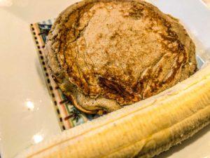Bananen Pancake ohne Mehl