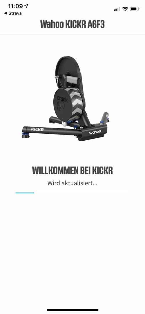Wahoo Kickr App