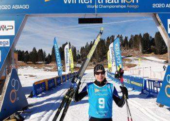 Top 10 Ergebnisse für Österreichs Wintertriathleten bei der WM 2020 5