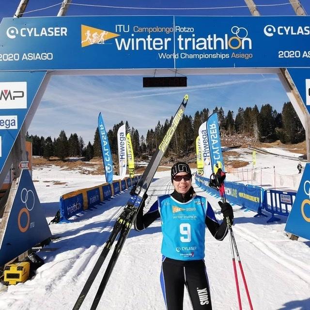 Top 10 Ergebnisse für Österreichs Wintertriathleten bei der WM 2020 1