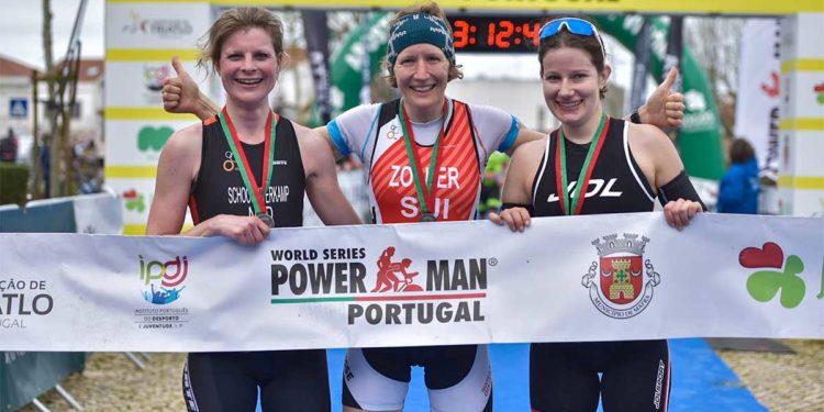 Sigrid Herndler beim Powerman Portugal 2020