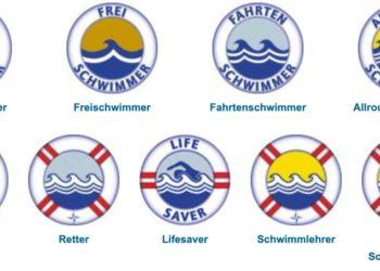 Schwimmabzeichen in Österreich