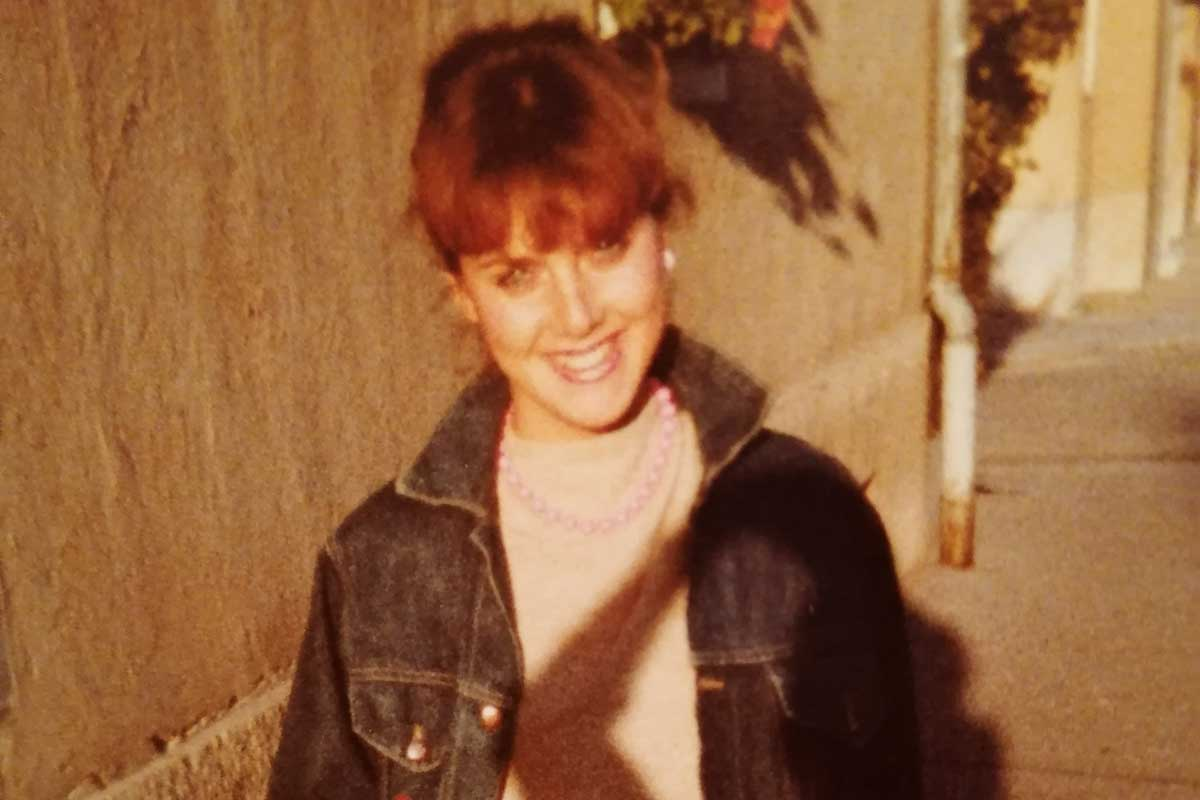 Elke Schiebl anno 1982