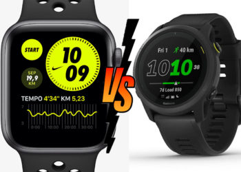 Apple Watch Serie 6 vs. Garmin Forerunner 745