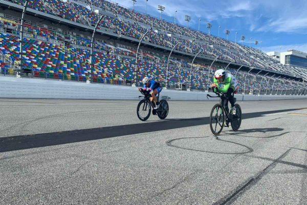 Thomas Steger bei der Challenge Daytona 2020